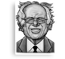 Bernie Caricature Canvas Print