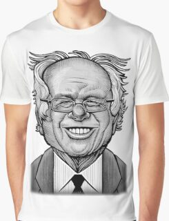 Bernie Caricature Graphic T-Shirt