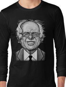 Bernie Caricature Long Sleeve T-Shirt