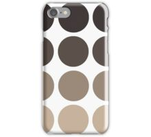 Gray Brown Gradient  iPhone Case/Skin