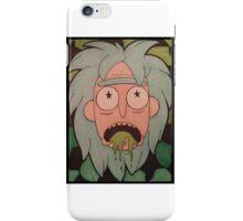 Trippy Rick iPhone Case/Skin