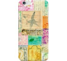 My Secret - Paper Collage iPhone Case/Skin