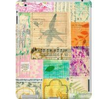 My Secret - Paper Collage iPad Case/Skin