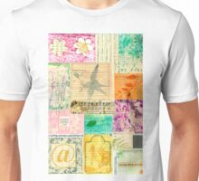 My Secret - Paper Collage Unisex T-Shirt