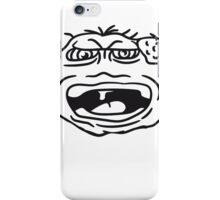 monster wart pimples disgusting decisive cripple evil dangerous horror halloween iPhone Case/Skin