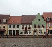 German village. by Maree Costello