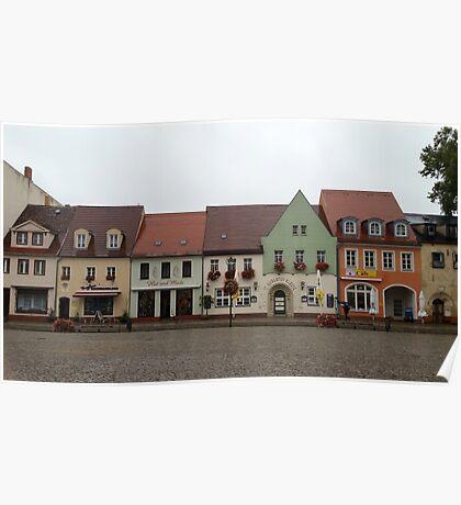 German village. Poster
