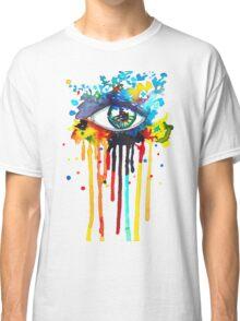 Rainbow Splash Eye Classic T-Shirt