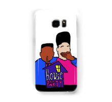 House Party White Samsung Galaxy Case/Skin