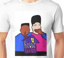 House Party White Unisex T-Shirt