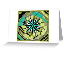 DESERT COMPASS Greeting Card