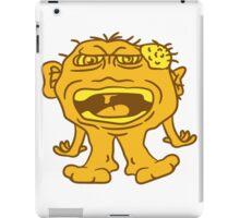 monster wart pimples disgusting decisive cripple evil dangerous horror halloween iPad Case/Skin