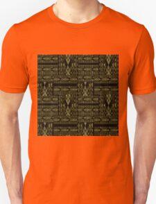 Patchwork seamless snake skin pattern texture T-Shirt