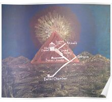 Inside a Pyramid Poster