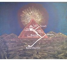 Inside a Pyramid Photographic Print