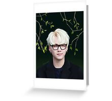 BTS - Suga Greeting Card