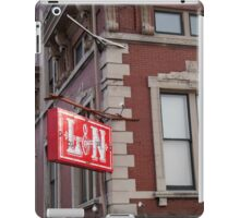 Railroad Sign iPad Case/Skin