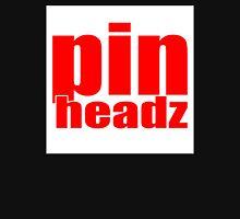 Piheadz Pinball CLASSIC RED on WHITE LOGO Unisex T-Shirt