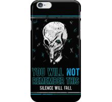 You will not remember this. (Second Version) iPhone Case/Skin