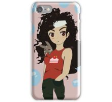 Anime bunny girl iPhone Case/Skin