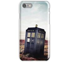 Tardis in Desert iPhone Case/Skin