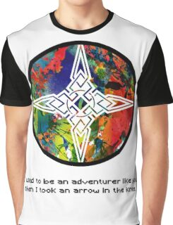 Took an Arrow in the Knee - Dawnstar Version Graphic T-Shirt