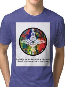 Took an Arrow in the Knee - Dawnstar Version Tri-blend T-Shirt
