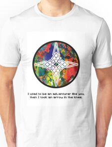 Took an Arrow in the Knee - Dawnstar Version Unisex T-Shirt