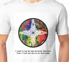 Took an Arrow in the Knee - Dawnstar Version Unisex T-Shirt