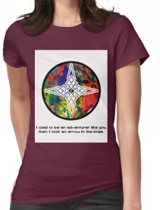 Took an Arrow in the Knee - Dawnstar Version Womens Fitted T-Shirt