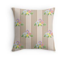 Cute seamless pattern with flowers Throw Pillow