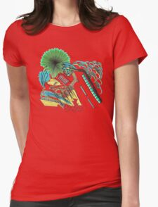 Abstract Life Road  Womens Fitted T-Shirt