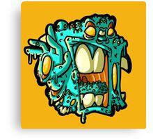 mutant head Canvas Print