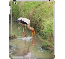 Open Billed Stalk in the wild South Africa iPad Case/Skin