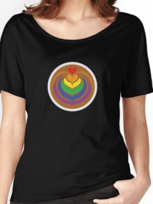 Rainbow Latte Women's Relaxed Fit T-Shirt