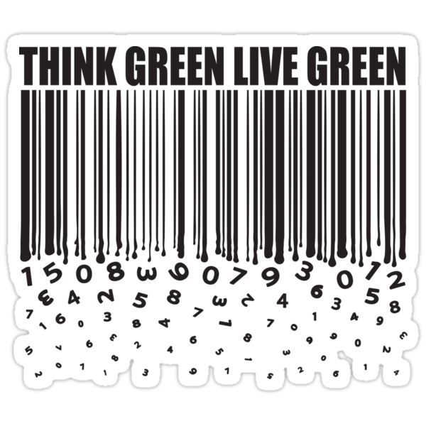 THINK GREEN LIVE GREEN by yanmos