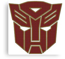 Transformers autobot Canvas Print
