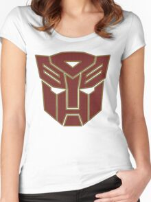 Transformers autobot Women's Fitted Scoop T-Shirt