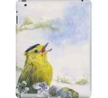 Singing the Blues iPad Case/Skin