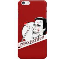 Patrick Bateman SRHL iPhone Case/Skin