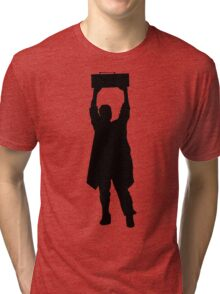 Say Anything- Boombox  Tri-blend T-Shirt
