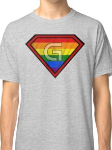 SUPER GAY HERO Classic T-Shirt