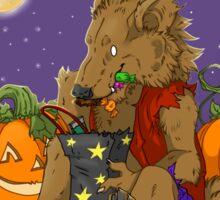 Werewolf Halloween  Sticker