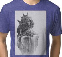 Troll Lizard Rock Tri-blend T-Shirt