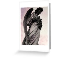Winged Angel  Greeting Card
