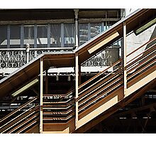 Chicago Downtown El Station  Photographic Print