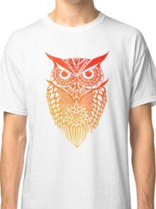 Owl orange gradient Classic T-Shirt