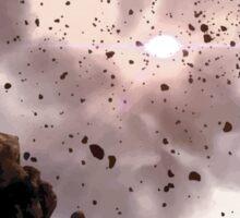 Asteroid Belt Sticker