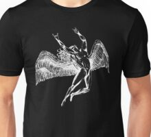 ICARUS THROWING THE HORNS - white Unisex T-Shirt