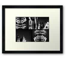 Speyer Germany Building Montage Framed Print